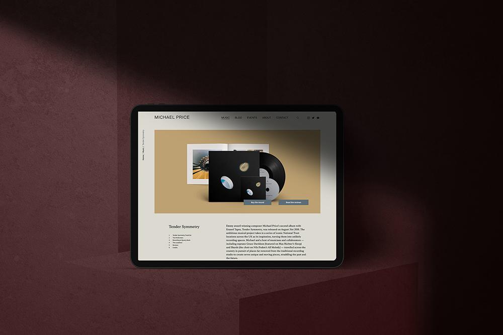 Michael Price - Webdesign unter Berücksichtigung von UX/UI